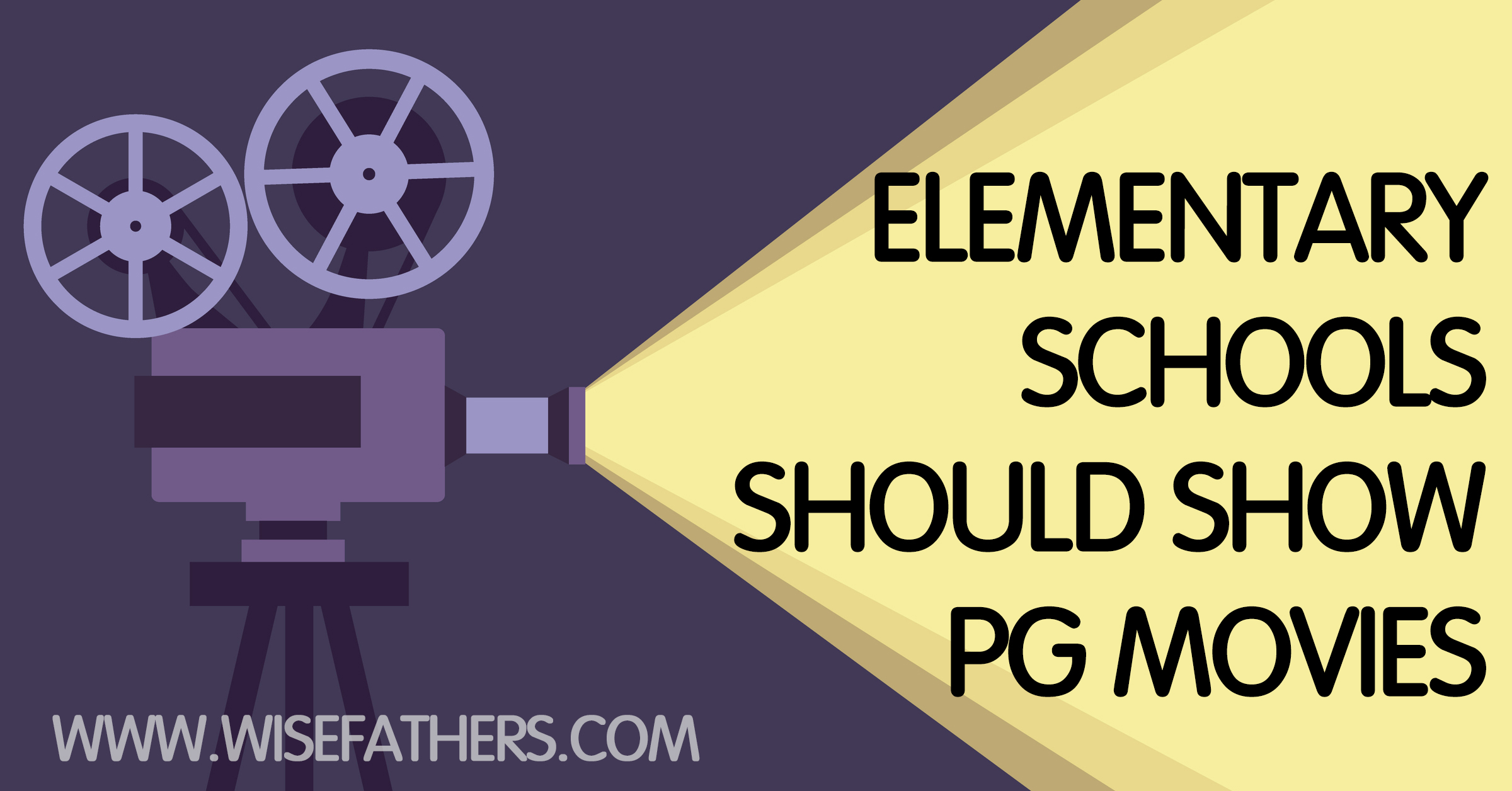 Why Elementary Schools Should Show PG Movies