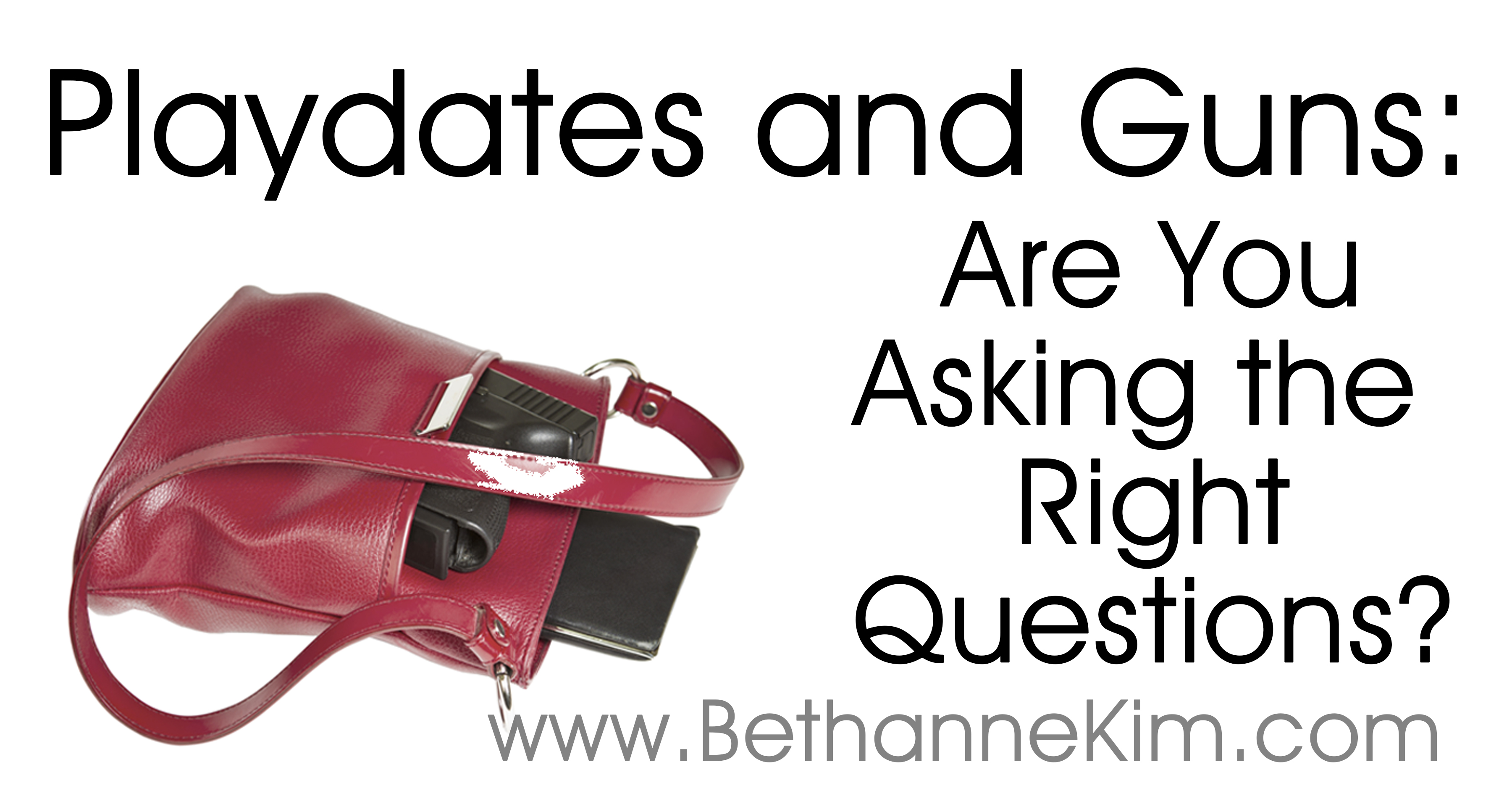 Playdates and Guns: Are You Asking the Right Questions