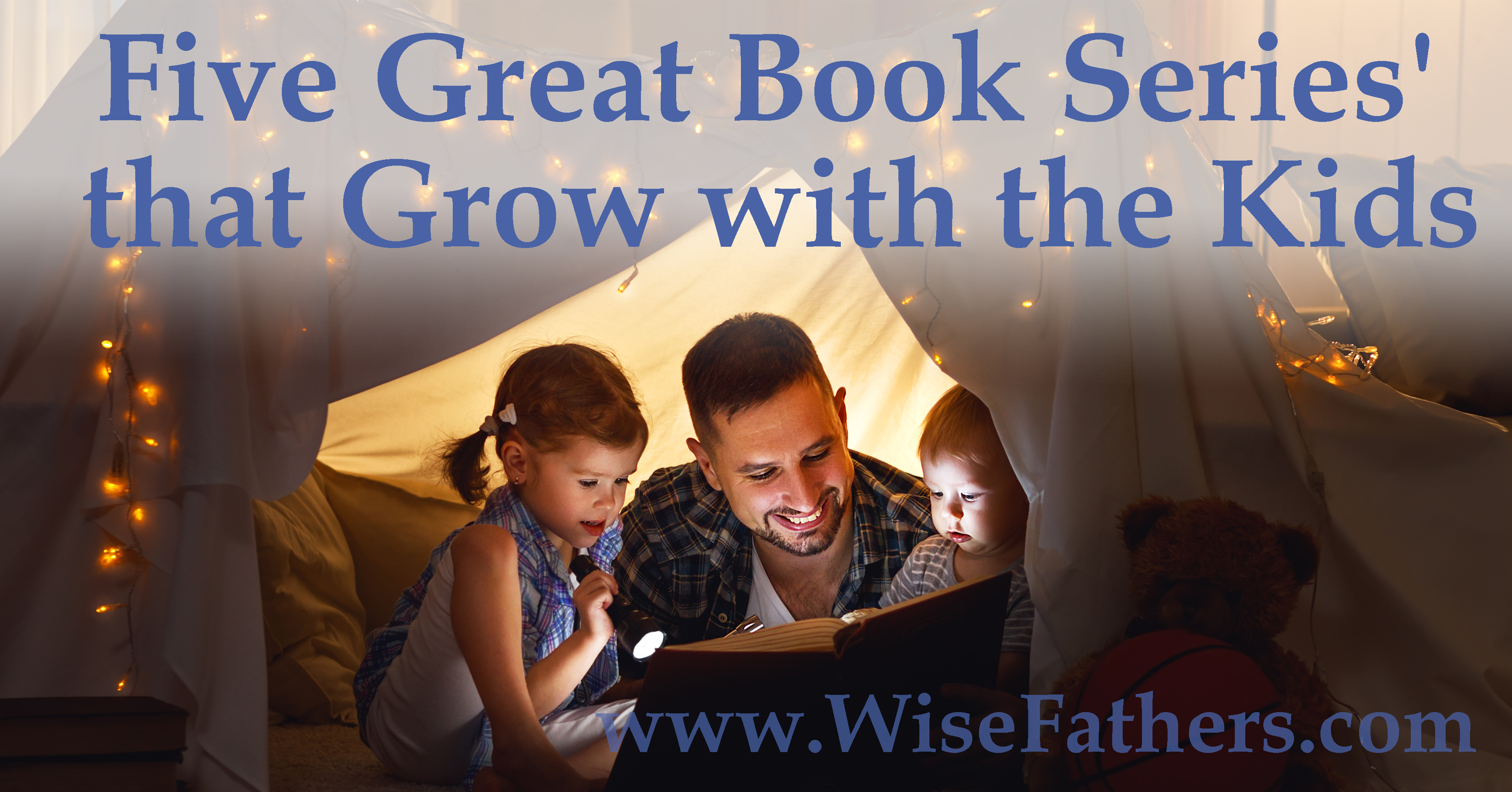Five Great Book Series' that Grow with the Kids