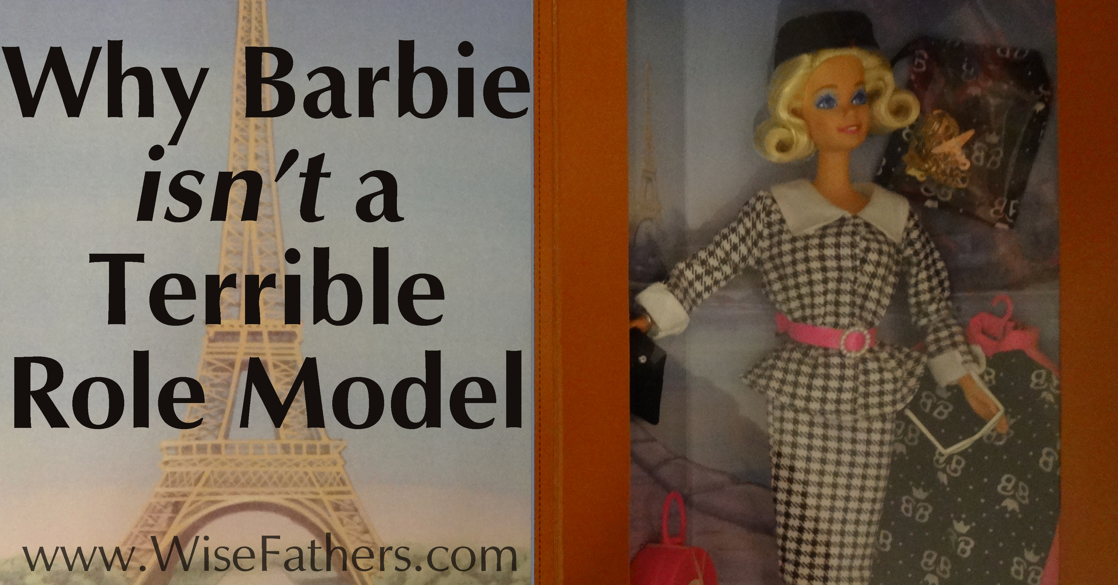 Why Barbie isn't a Terrible Role Model