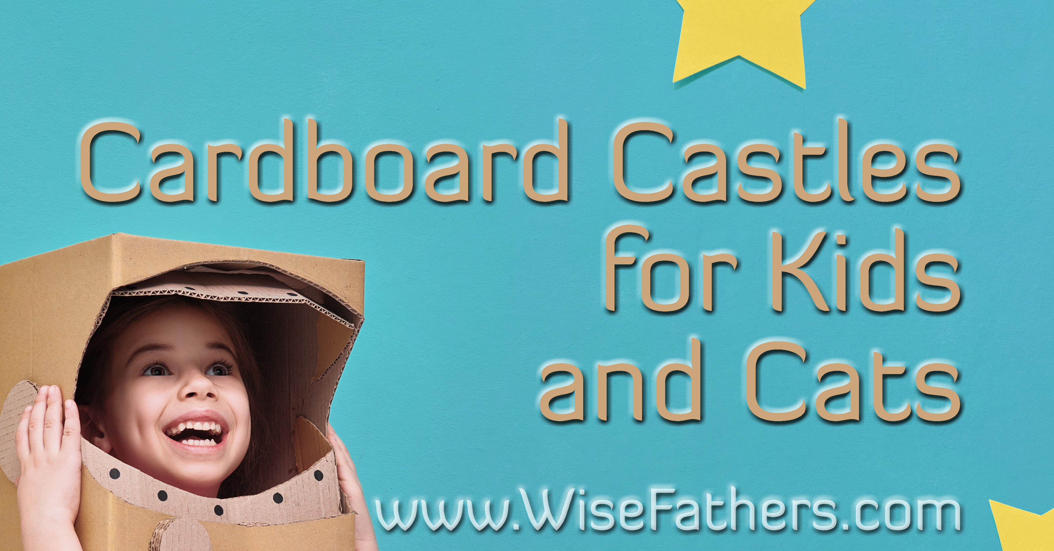 Cardboard Castles for Kids and Cats